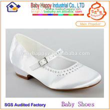 Zapatos flossy al por mayor del cabrito para los niños