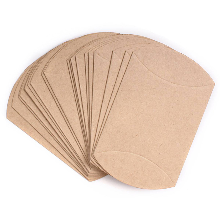 Kraft Paper Pillow Box