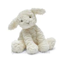 ICTI fábrica personalizada linda peluche de oveja de juguete