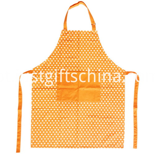 Promotional Cotton Apron W Branded Logo & Front Pocket (4)
