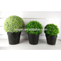 Eco- friendly simulation artificial grass ball bonsai decor