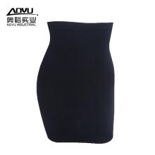 Shantou Black Seamless High Waist Control Tight Skirt