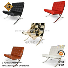 Pony Leather Barcelona Sofa (GV-BC01)