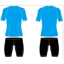 Stock Blue Sublimated Manches courtes