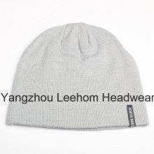 Зимняя мода Теплый Открытый Рекламные трикотажные шапочка Hat