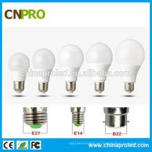 Bombilla de aluminio revestida plástica 110lm / W 12W LED