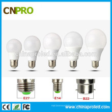 2-летняя гарантия Светодиодная лампа высокого качества A60