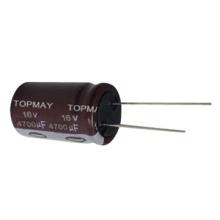 Стандартный Алюминиевый электролитический конденсатор 125c / 130c
