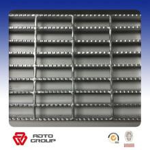 panel de rejilla de acero de la marca superior / panel de rejilla de metal glaseado