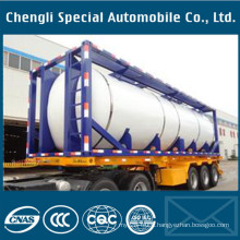 40FT ISO Oil Tank Container 20FT Liquid Chemical/Fuel Tank Container