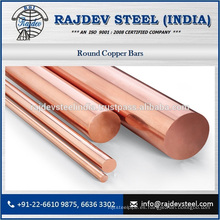 Barra redonda de cobre impresionante para la venta por el surtidor repujado