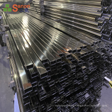 foshan factory Wardrobe Stand Stainless Steel Pipe Tube Sus201 304 Material Low Price And High Quality