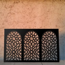 Laser Cut Window Panels