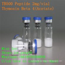 Tb500 2mg Péptido liofilizado Pureza Tb500 Thymosin Beta 4 Péptido de crecimiento muscular
