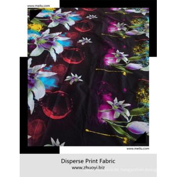 Hochwertiges Polyester-Mikrofasergewebe Dispersionsdruck