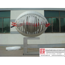 City School Stainless Steel Sculpture
