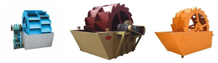 sand washer machine