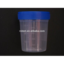 urine collection and test cup container