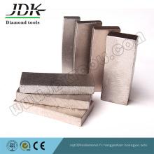 Segments de diamant Ds-20 pour la coupe de grès