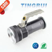 Fuerte luz mejor caza de emergencia mano luz 18650