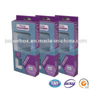 Cardboard Packaging Box with Clear Window