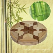 Kinder Bildung IQ Bambus Puzzle