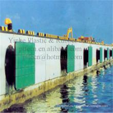 Полиэтилен uhmw пластиковая лодка корабль Скид продуктах Обвайзера