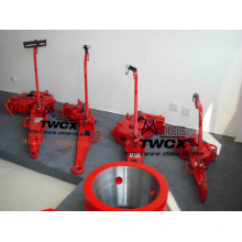 Wellhead manual Tongs B type SDD type and DB type manual tongs