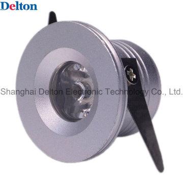 Delton 1W Silver Colour Mini LED Spot Lighting (DT-CGD-018B)