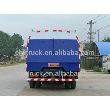 2015 Fábrica de suministro Dongfeng 145 camión de barrenderas con tanque de polvo 5m3