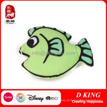 Peixinho verde pet brinquedos para gato