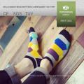 Los calcetines del calcetín del calcetín de los calcetines del calcetín del calcetín de los calcetines del mens con calcetines del tubo del muchacho