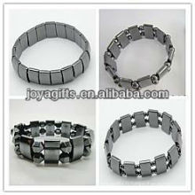 Assortiment de 4style * 3PCS Bracelet étirement magnétique de l'hématite (12PCS / sac)