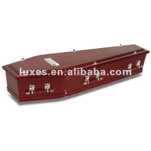 Unique style wooden coffin