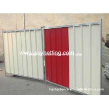2.0X2.1 Temp Steel Hoarding Panels