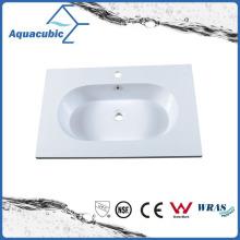 Alta calidad del baño de mármol artificial lavamanos Acb0808