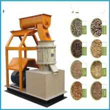 CE Approved Flat Die Biomass Wood Granulator