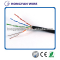 berkualiti tinggi double shielded cable cat5e cat6