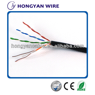 plenum cat5e cat6 utp stp cable braided solid structured cablingp
