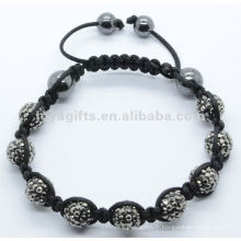 Bracelet élastique à perles en cristal Joya 2012