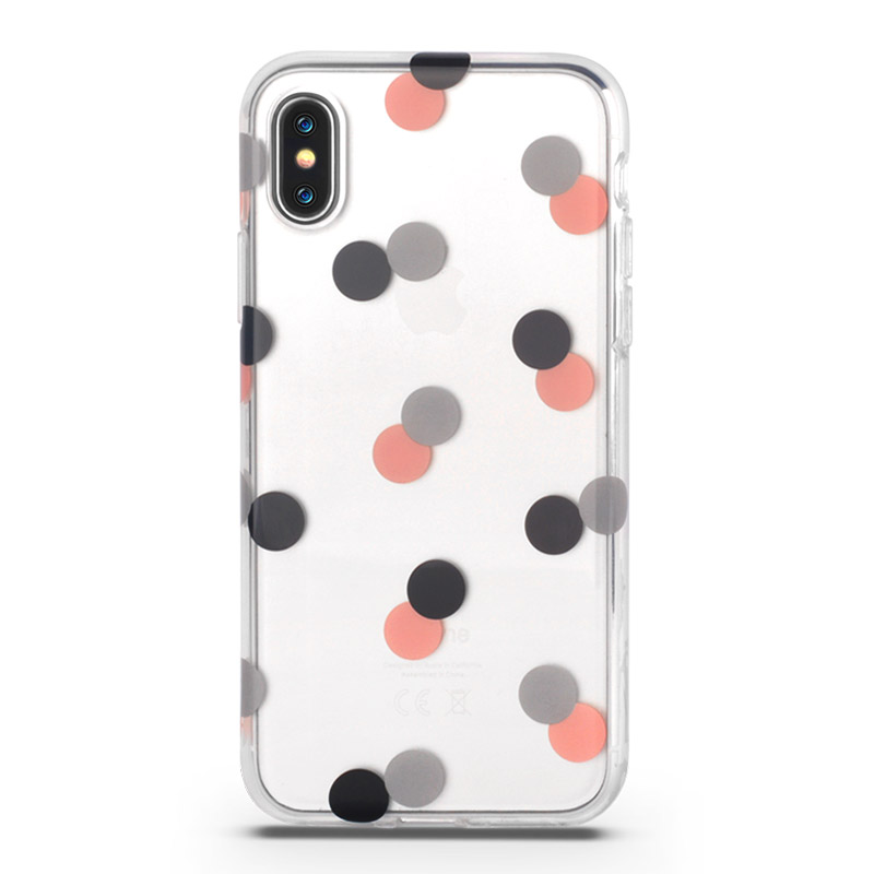 Round Dot Iphone x Cover Case
