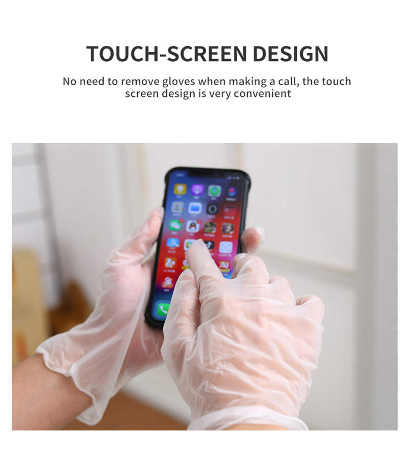Disposable Powder-free Examination PVC Gloves (2)
