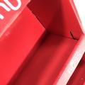 Apex red paper store display rack kids toys display shelf cabinet