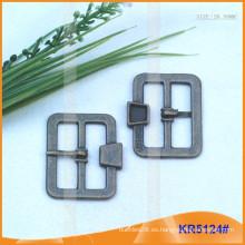 Tamaño interior 28.55mm Hebillas de metal para zapatos, bolsa o cinturón KR5124