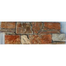 Système de lambris en pierre véritable pour extérieur