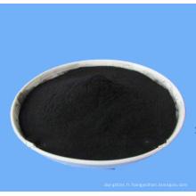 poudre noire de soufre réactif B240% de hangzhou pour la teinture de fibre de coton
