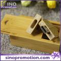 Wholesale Leaf Shape 32GB Wooden USB Flash Drive
