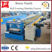 Hydraulic Trapezoidal Aluminum Tile Floor Deck Roll Forming Machine