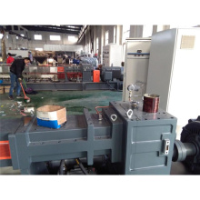 Twin screw extruder for pure color masterbatch