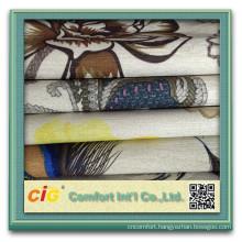 Wholesale Polyester Knitted Velvet Sofa Fabric